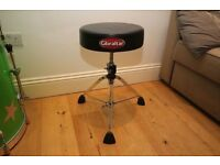 Gibraltar Drum throne 9600 series (like new)