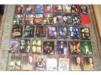 DVDS JOBLOT SMALLVILLE , X FILES , SUPERNATURAL , ALIAS , BUFFY PLUS FEW OTHERS