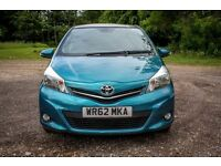 2012 (62) Toyota Yaris T Spirit 1.33 VVT-i (2 Owners, Low Miles, Great Spec)