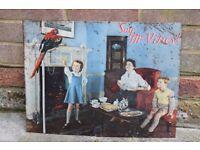 McVities Sign 1950's Vintage Advertising Retro,vintage advertising,retro sign,tin sign,antique sign,