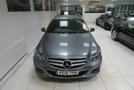 MERCEDES-BENZ E CLASS 2.1 E220 CDI BlueTEC SE 7G-Tronic Plus 5dr Auto (grey) 2015