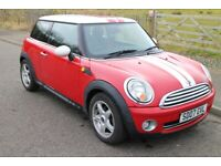 """MINI COOPER 1.6 FSH ONLY 52k miles ALLOYS 1/2 LEATHER """"CHILLI PACK"""" R56 *PRICE REDUCED TO £2495*"""
