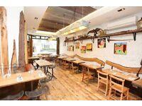 Waiters for British Restaurant Rabbit in Chelsea, up to £12/hr