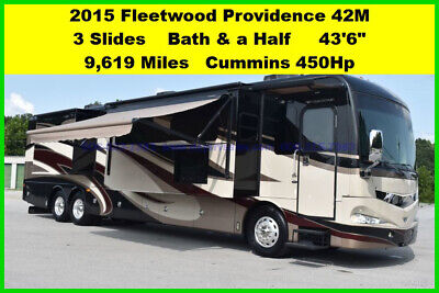 2015 Fleetwood Providence Used Diesel Pusher Motor Home Coach Motorhome MH RV