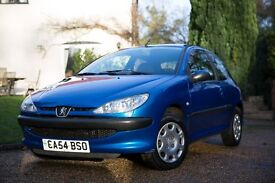2004 Peugeot 206 1.4 S Petrol - 3Dr - Only 2 Previous Owners - Air Conditioning