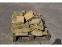 Natural sandstone pallet