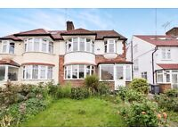 A lovely five bed house with two receptions with a garden and garage close to West Finchley Station
