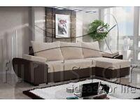 ALL BRAND NEW CORNER SOFA BED WITH STORAGE / UNIVERSAL CHAISE / POLSKIE NAROZNIKI / WERSALKI