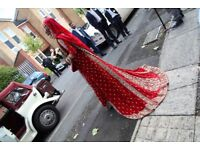 Indian bridal wedding gown
