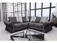 The Tango and Camden cord fabric sofa sets and corner suites, BOTH ON SALE FOR £500