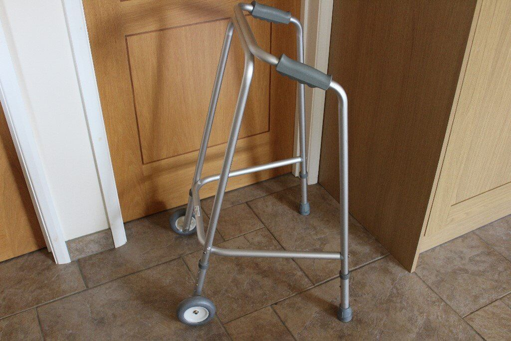 Zimmer Frame Walking Aid Light Weight Height Adjustable