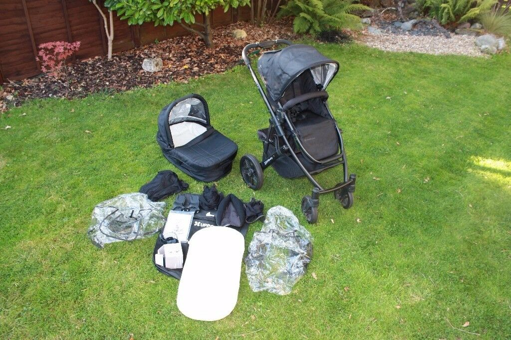 UppaBaby Vista travel system (carry cot and buggy)