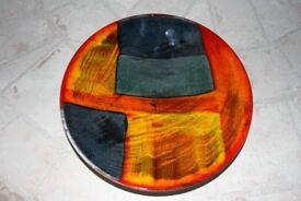 POOLE POTTERY - 25cm Gemstone Dish