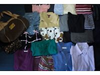 Beautiful Women clothing bundle size 14, 27 items in total, jeans, office shirt, trouser,