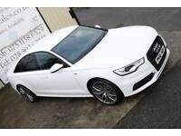 2012 AUDI A6 2.0 TDI S LINE 175 BHP SALOON * BLACK EDITION SPEC * (WARRANTY & FINANCE)