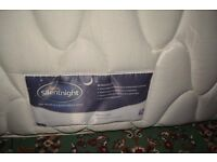 Silentnight Double mattress with built in topper. 1 year old. In good clean condition.