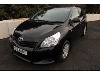 11 TOYOTA VERSO 1.6 VALVEMATIC 7 SEATER ++ ONLY 50,000 MILES & FULL YEARS MOT ++