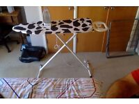 Ironing board and Iron in good condition.