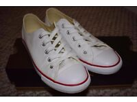 Brand new size 4 Converse