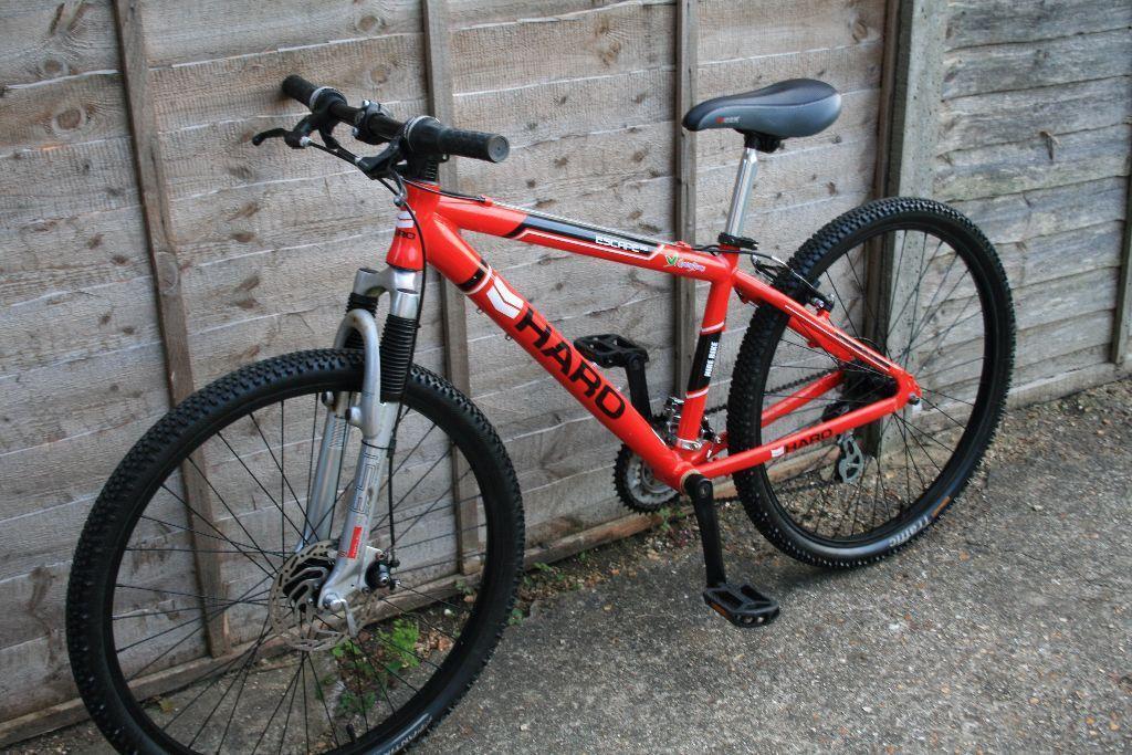 haro escape 26 mountain bike bicycle alloy frame size