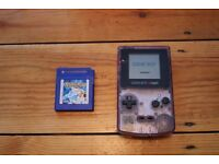 Gameboy Colour and Pokemon blue