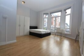1WEL - Spacious Bright STUDIO FLAT (1st Floor) - ALL BILLS INCLUDED - in West Hampstead, NW6