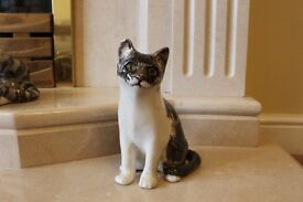 4 x Winstanley cats - clay ornaments - rare -collectible - OFFERS