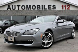 2012 BMW 6 Series 650i Cabriolet