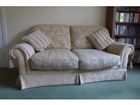 M&S 3 seater bed settee plus matching 2 seater settee