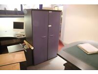 2x Large Office Wardrobes