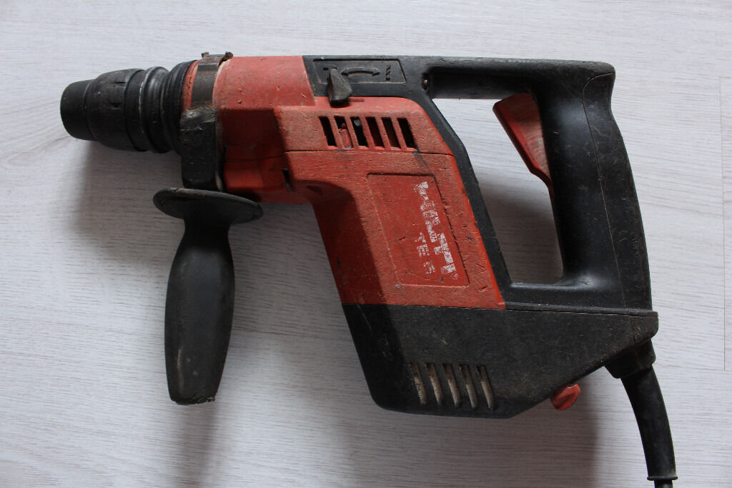 Hilti Te5 Corded Hammer Drill 110v In Paisley