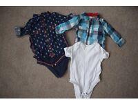 Baby Boy Clothes Bundle - 3-6 months (17 items)