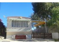 Costa Blanca Static caravan on quiet, well situated site