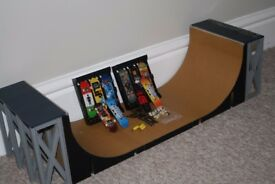Tech Deck Bundle, Ramp, Boards, skateboard