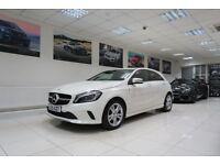 MERCEDES-BENZ A CLASS 1.5 A180d Sport (Premium) 7G-DCT 5dr (start/stop) Auto (white) 2016