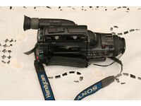FAULTY SONY HANDYCAM CCD-FX500E VIDEO 8 CAMERA & ACCESSORIES