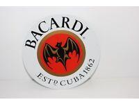 Retro Bacardi Sign