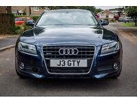 Audi A5 3.0 TDi Quattro - Loads of extras/spec - deep sea blue - must see!
