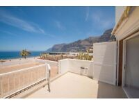 Oceanront apartment in the Port of Los Gigantes, Tenerife!
