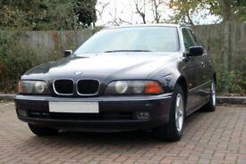 BMW 520i (E39) - Very smooth runner, but repairs needed