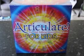 Articulate For Kids Board Game Brand New Sealed