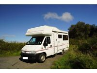 Compass Avantgarde 400 Lux Motorhome. Good condition Manual/Semi Automatic Transmission