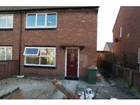 Lichfield Road.,Southwick, Sunderland. 2 Bed brand new House.Huge garden. No Bond! DSS Welcome.