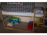 Ikea KURA Children reversible Bed 90 x 200