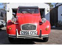citroen 2cv barn find classic car