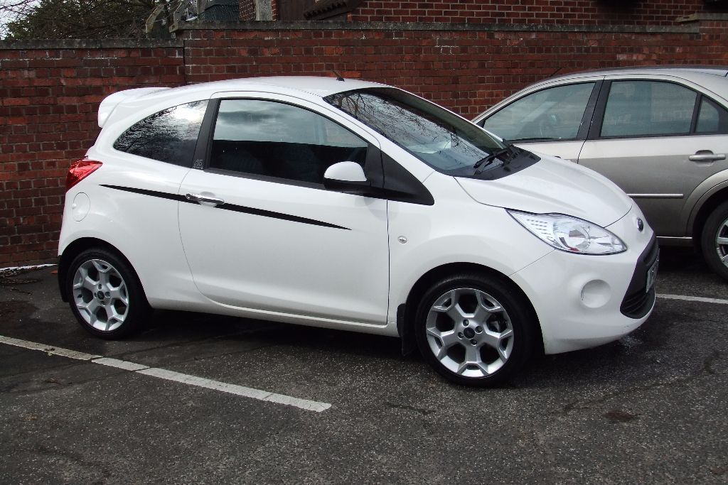 ford ka 2012 1 2 titanium start stop in norwich norfolk gumtree. Black Bedroom Furniture Sets. Home Design Ideas