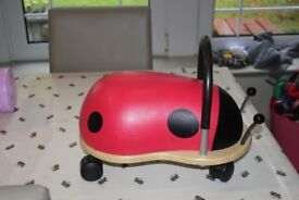 Wheely bug - small ladybird suitable for 1 yrs +