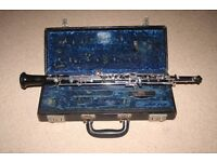 Boosey & Hawkes wooden oboe