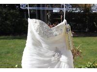 Wedding dress size 18 new and unworn