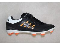 KIPSTA SKILL 500 JUNIOR RUGBY BOOTS ALMOST NEW